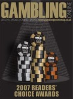 Gambling Online Magazine Awards Issue 2007